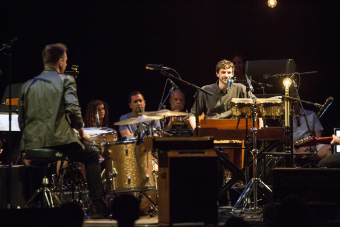 Gotye at Moogfest - Gotye's Jean-Jacques Perry tribute at Moogfest 2017Photo by Ben McKeown