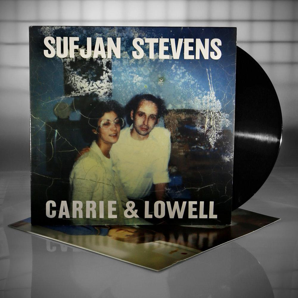 Sufjan's 2015  Carrie & Lowell . Available on CD/LP/tape/digital.