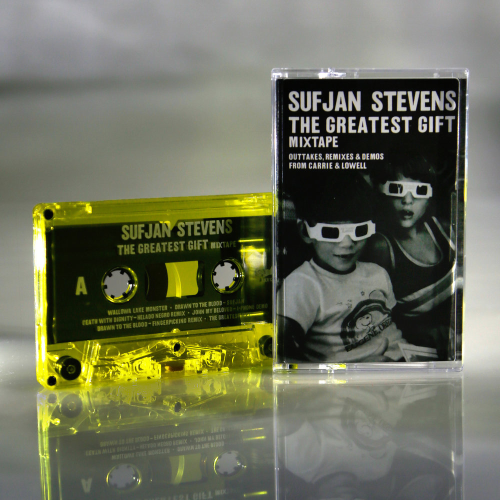 The Greatest Gift  is a mixtape of outtakes, remixes and demos from Sufjan's 2015 album   Carrie & Lowell  .