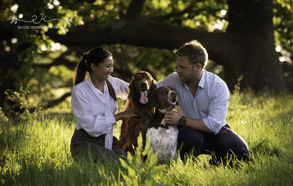 Jersey photographer - couples & dogs photoshoot