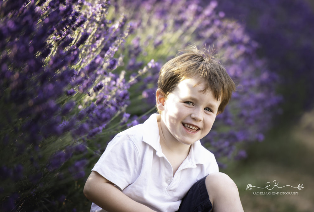 Jersey photographer - boy in lavender