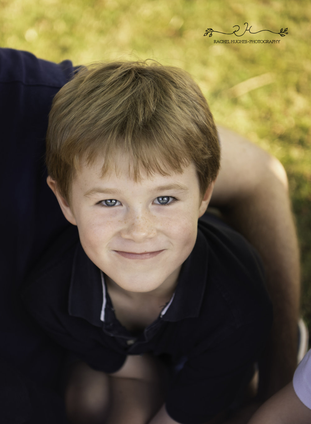 Jersey photographer - blue-eyed boy portrait