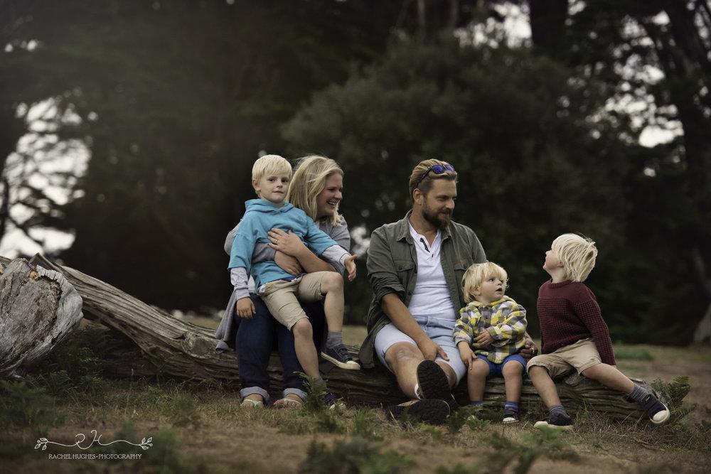 Jersey photographer - family photoshoot at Grantez