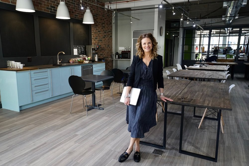 Special thanks to Nancy Fornasiero and her spectacular new shared workspace called  ACE Coworking for providing the backdrop for these photos.
