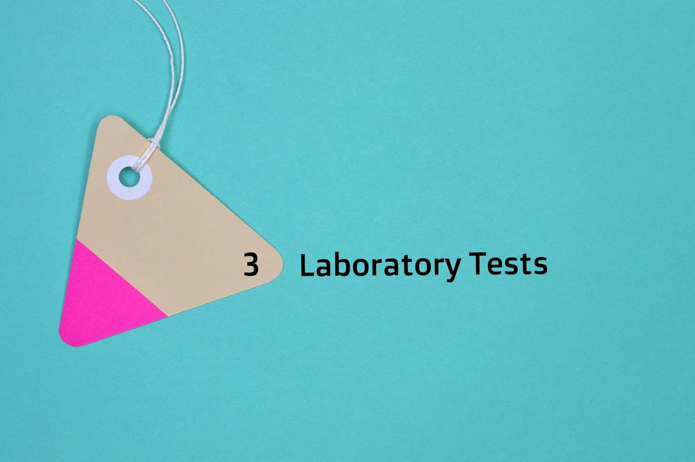 Laboratory tests - Depending on your needs, you'll need to do several tests such as a blood test for an extensive check-up, including hormones, minerals, vitamins, etc. But you might also need tests of your saliva (i.e., adrenal stress), urine and/or stool to check your intestinal flora. For these tests you'll go to a lab and/or you'll have home kits.