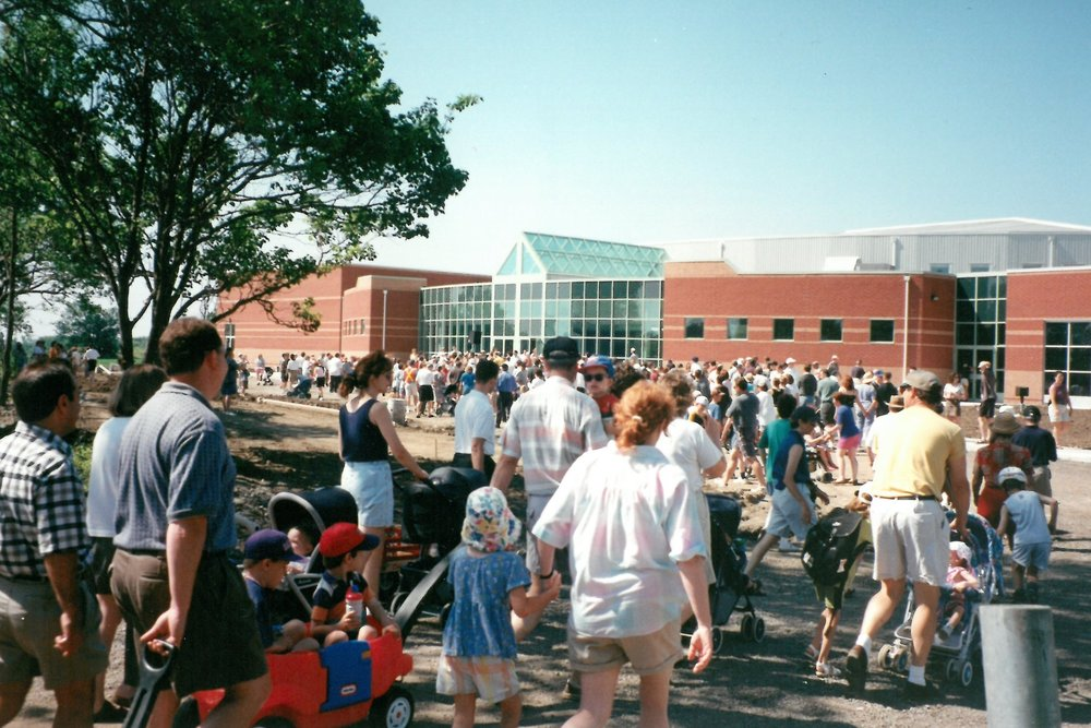1999 - Move to 599 Bayly St. E location with 600 people • Name change to Carruthers Creek Community Church