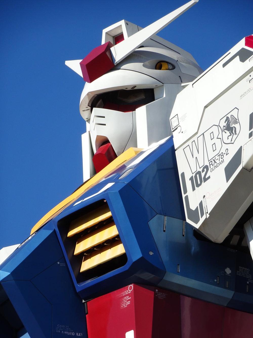 RX-78-2 Gundam 1-1 Statue - 012.jpg