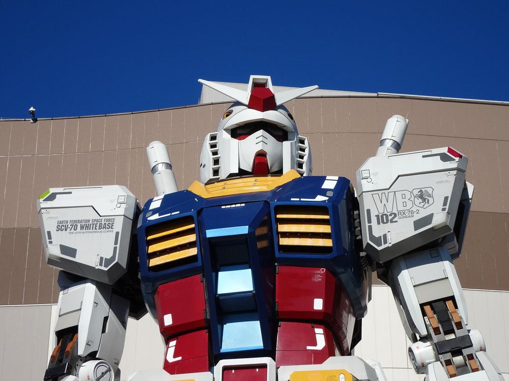 RX-78-2 Gundam 1-1 Statue - 015.jpg