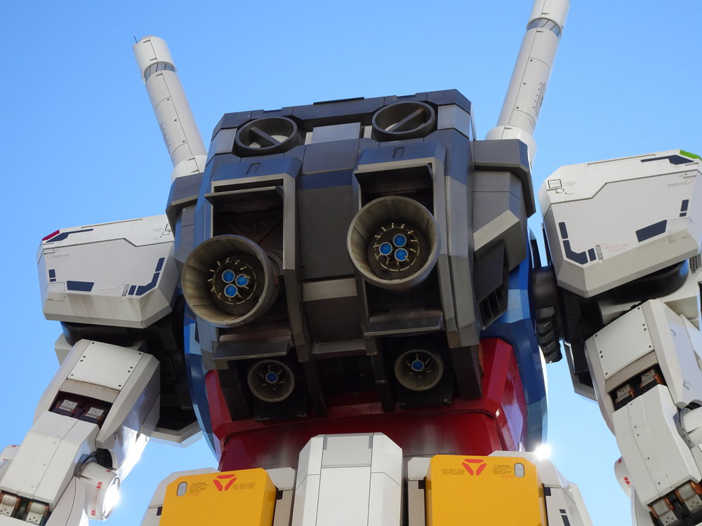 RX-78-2 Gundam 1-1 Statue - 048.jpg