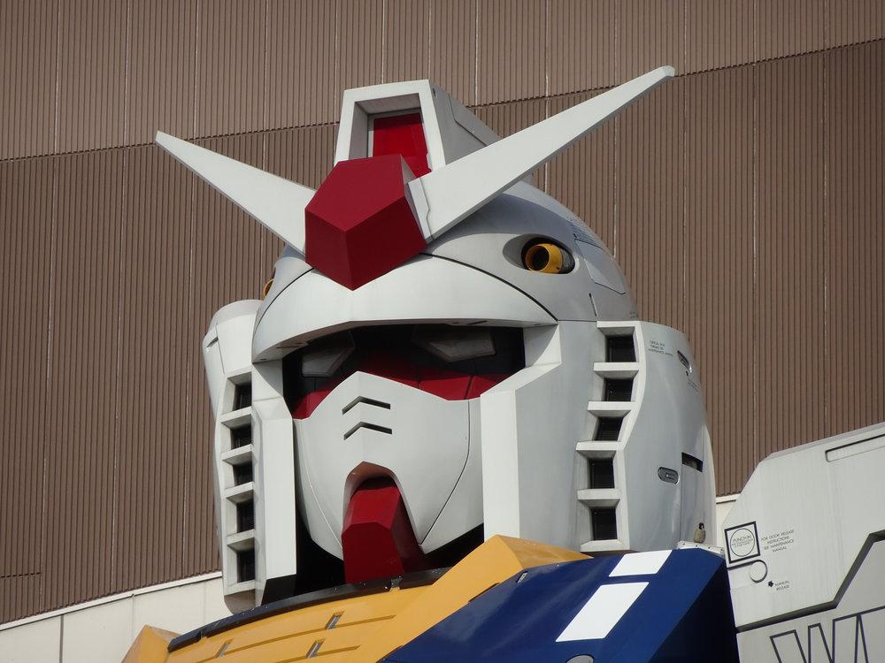 RX-78-2 Gundam 1-1 Statue - 080.jpg