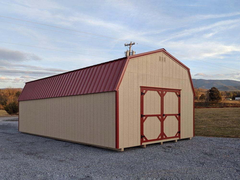 14 x 32 High Wall Barn