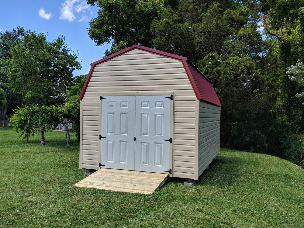10x16 High Wall Barn