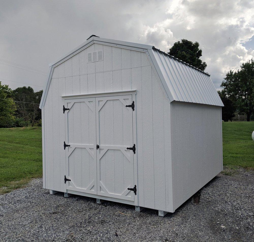 10x12 High Wall Barn