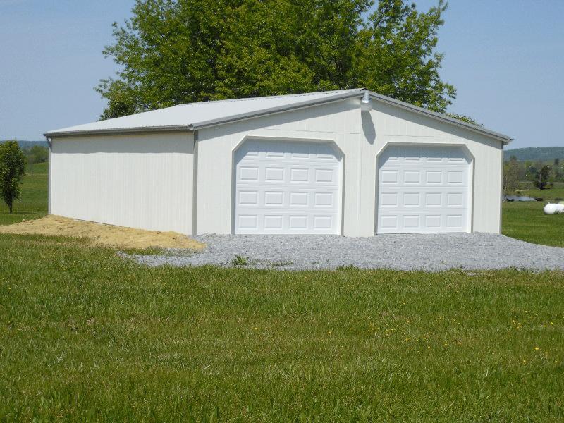 24' x 32' Double Wide Garage