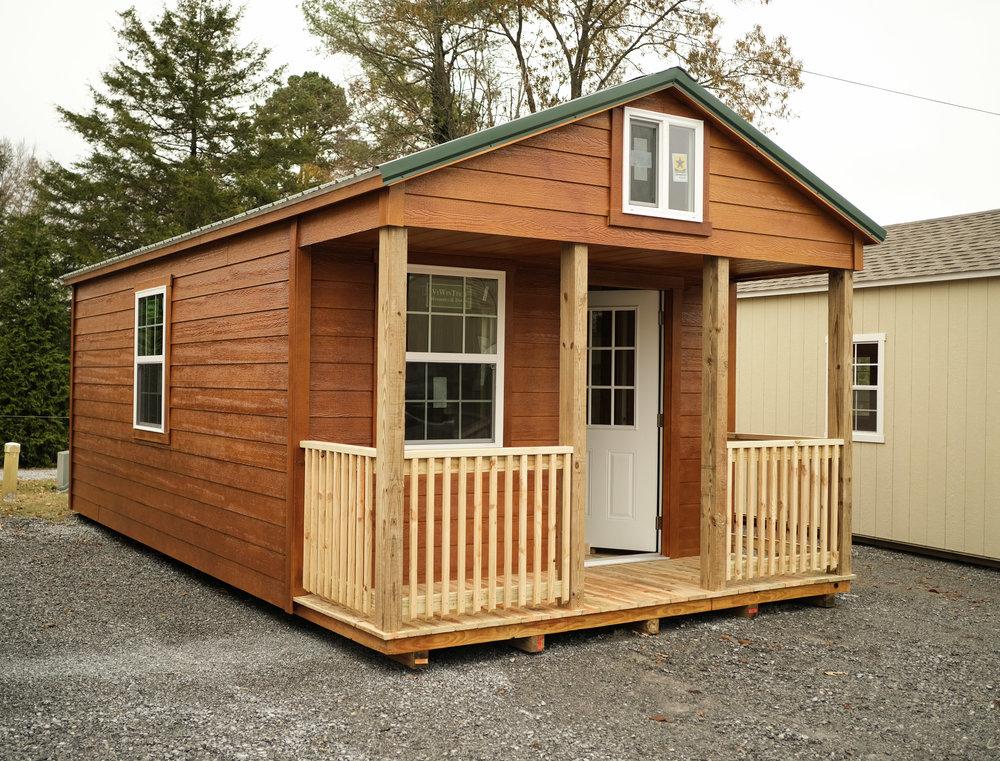 12' x 20' Cottage w/ Porch