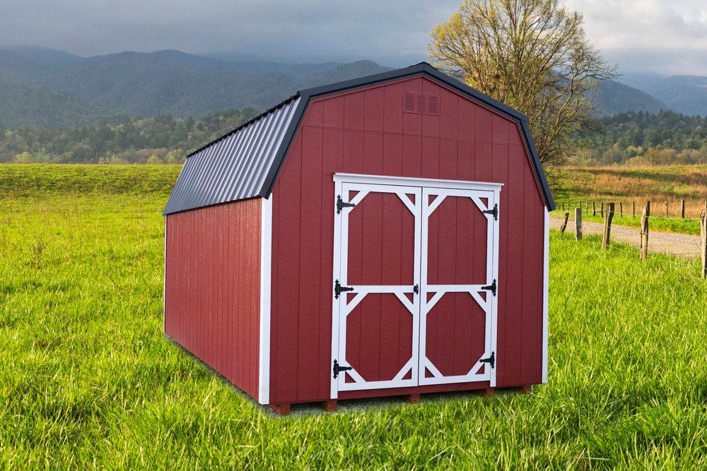 10' x 16' High Wall Barn
