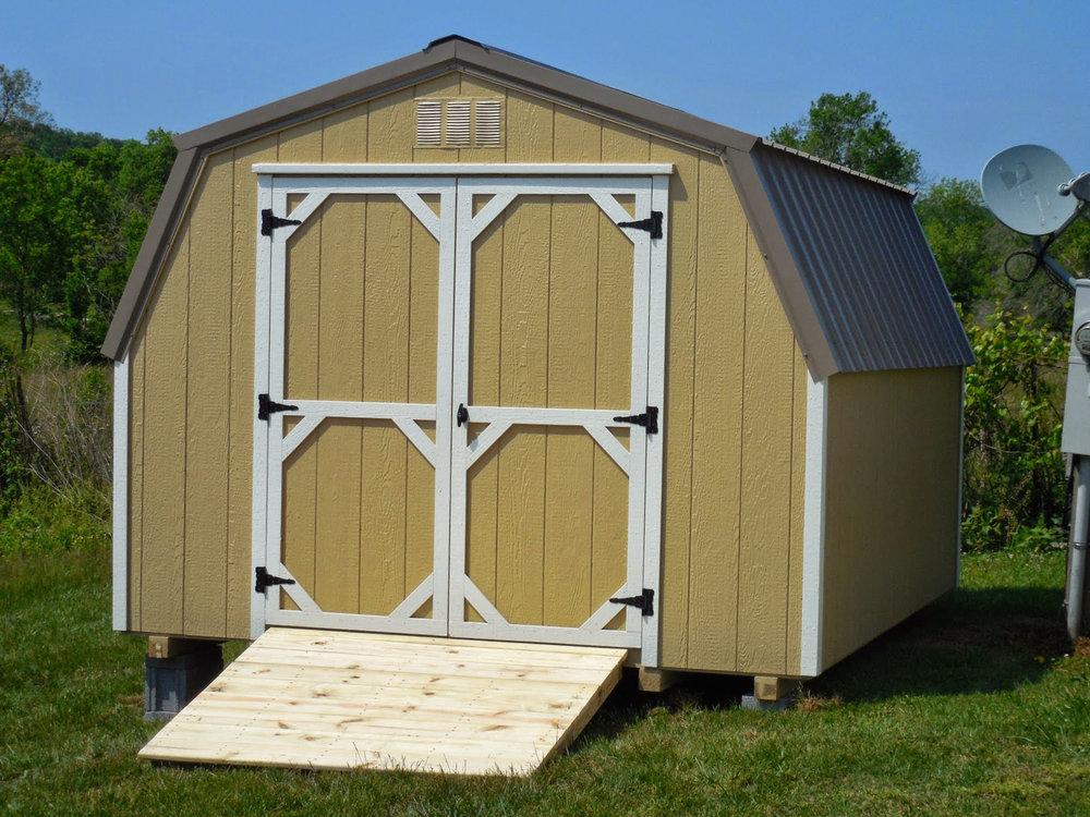 10x12 Mini Barn