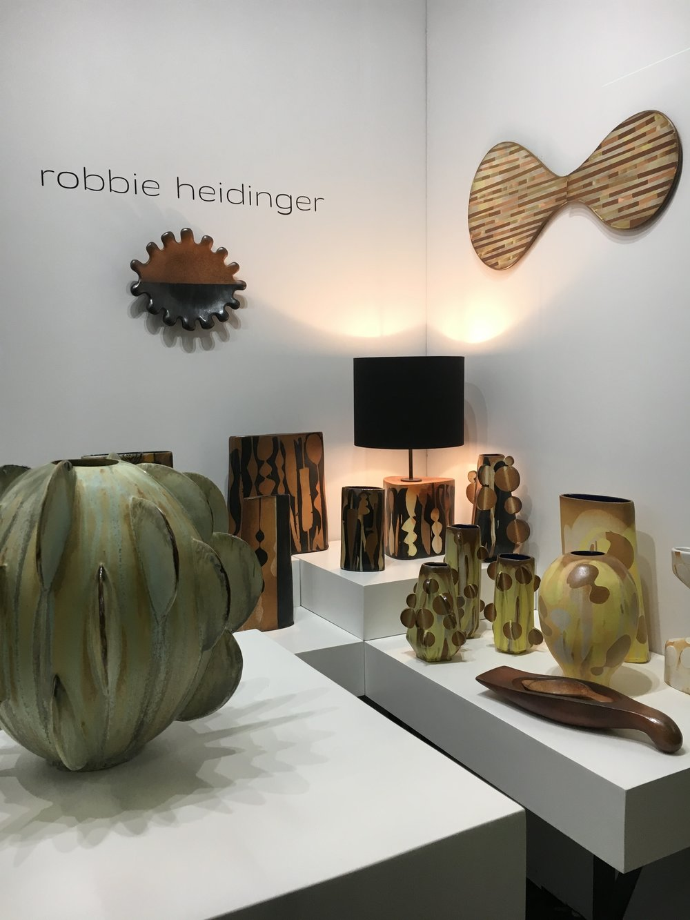 - Architectural Digest Design Show 2019MADE section booth 905Pier 94NYC, New York