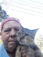 """JANICE -"""" SPEEDY HELPS ME WHEN I FEEL ALONE OR ILL, SHE WILL BE 9 YEARS OLD IN A FEW DAYS"""""""