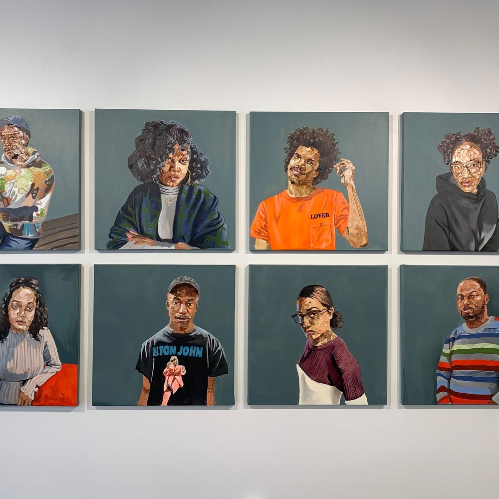 WABE  Atlanta Artist Connects With Family, Race In First Solo Exhibition  (March 21, 2019)