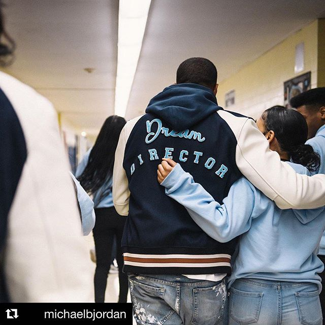 Grateful to have you as a mentor and role model for our young people @michaelbjordan 💙 #DreamItReal #Newark • #Repost @michaelbjordan  Man nothing makes me happier than giving back whether it be my time, talent, or treasure. Had a complete blast working with @dreamdirectors & @coach at Barringer HS in my hometown of Newark, NJ. (Saw so much of myself in these students) These kids are some of the most talented & brightest and that keeps me enthused about the future. Keep Dreaming • PS: I use to give Barringer buckets back in the day while I was at Arts High 🙌🏾🏀😂