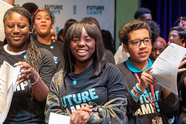 ATTN: #ATLANTA! Love helping young people discover their dreams? #FutureCamp is coming to #Atlanta (Feb 8-10) to teach 100+ young people skills to bring their dreams to life! We're looking for volunteers to make this experience one they will never forget 💙 Join us — Link in bio!
