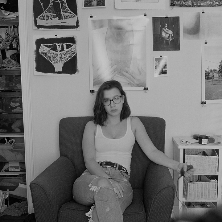 Daily Self-Portrait XLV