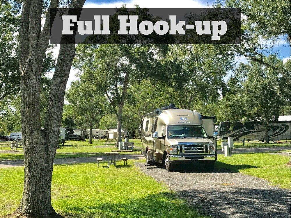 Full Hook-up Campsite