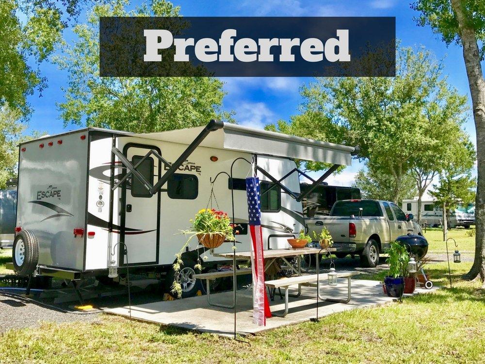 Preferred Campsite