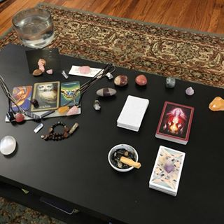 Deck:  Slutist Tarot (photo by Kristina of Red Thread Tarot)
