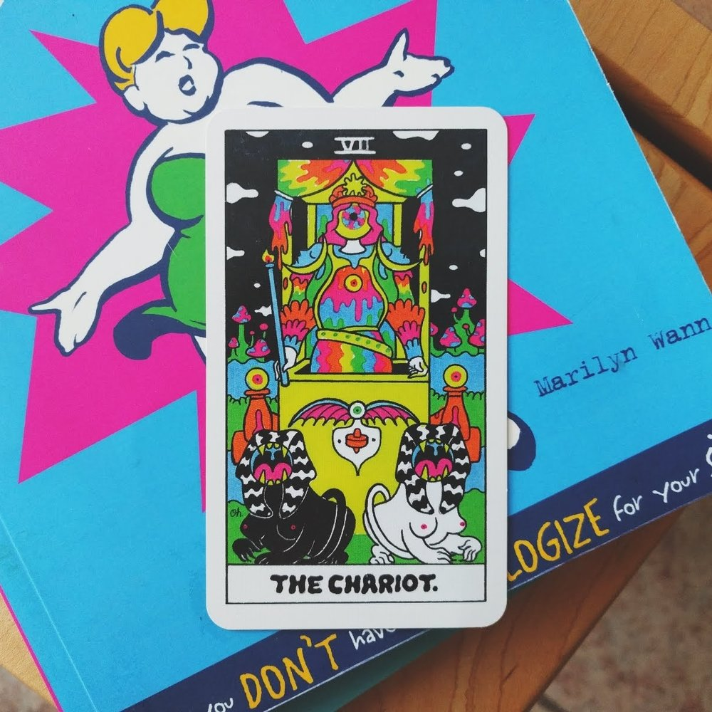 The Chariot  from the Oliver Hibert Tarot