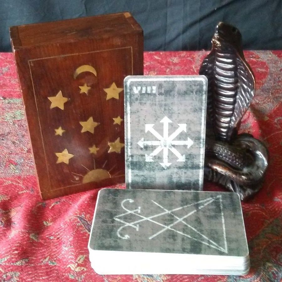 Deck:  The Satanic Tarot (image provided by James Bridge of Left Hand Tarot)
