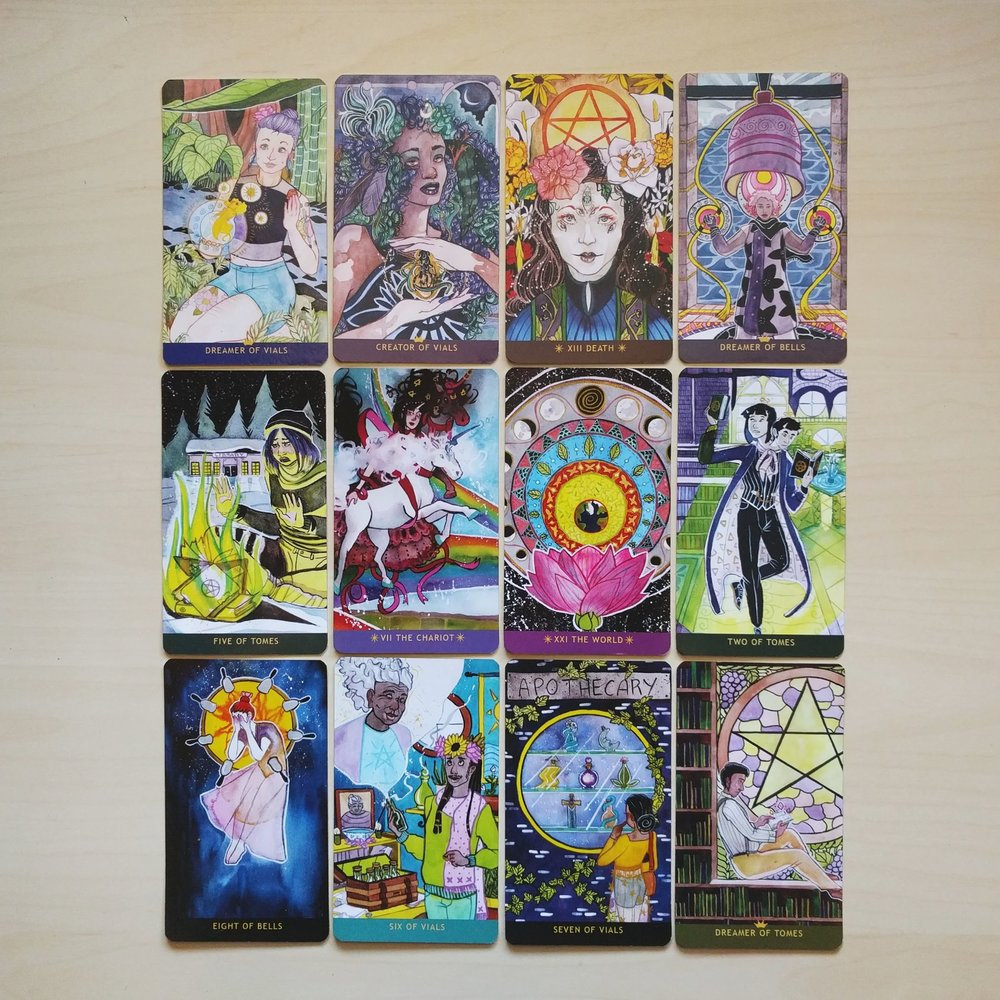 DECKS: Moon Oracle + Spirit Speak