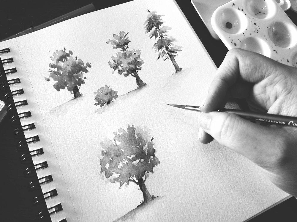 Tree Study and Practice