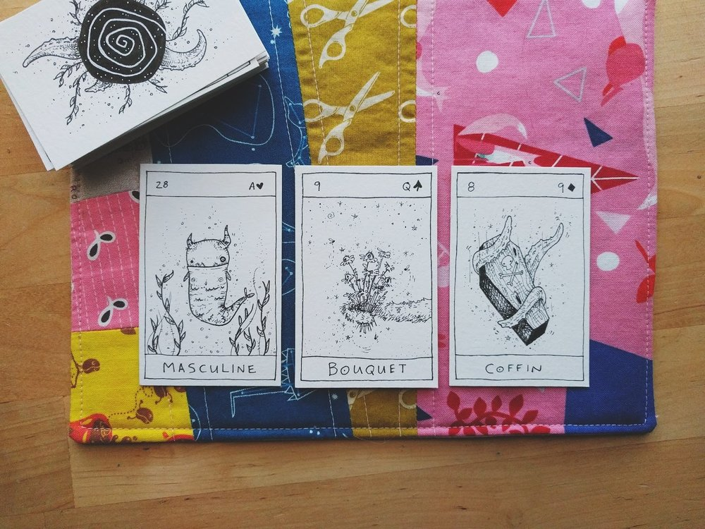 DECK: My Monster Lenormand (coming soon!)