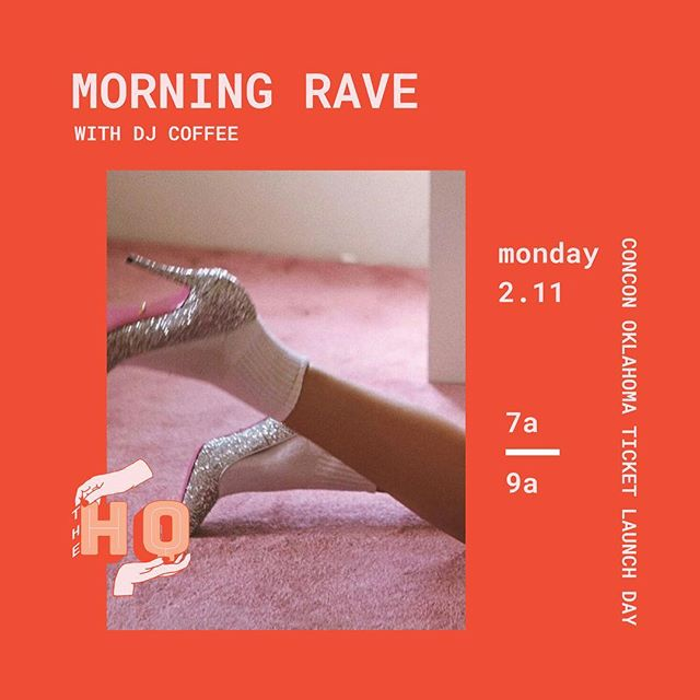 so, we're throwing our second morning rave and you're invited to come get down, boogie, & drink coffee at 7am this Monday in honor of our early bird ticket launch for @confidencecon 🎈🚨🎧🎟