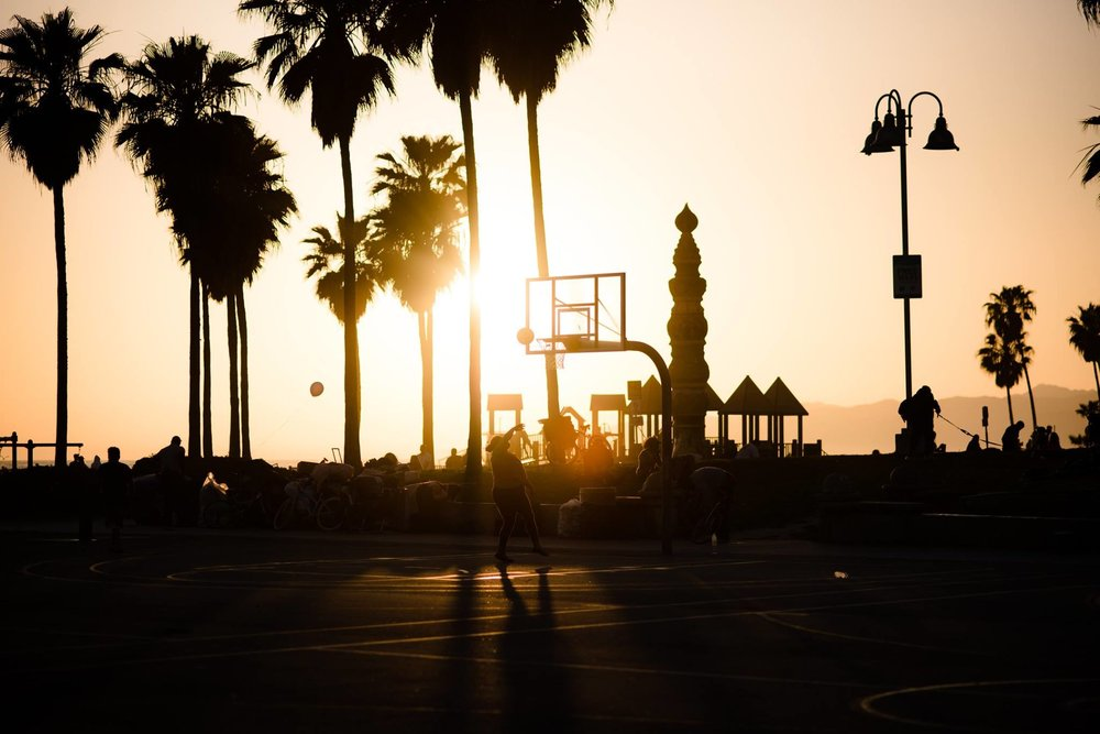 Venice Beach by Danny Pan