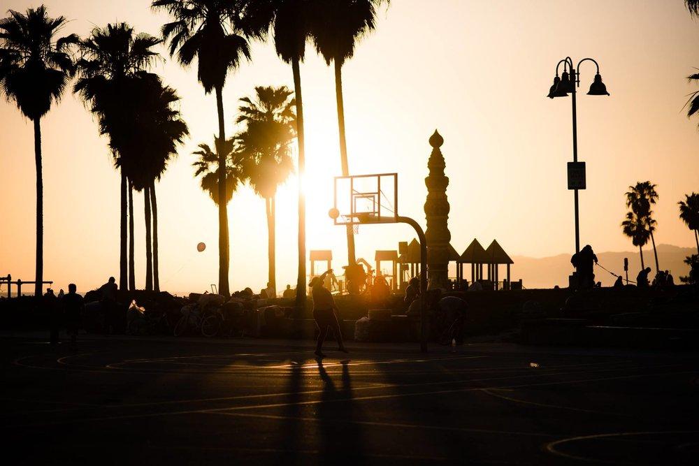 Venice Beach by Danny Pan