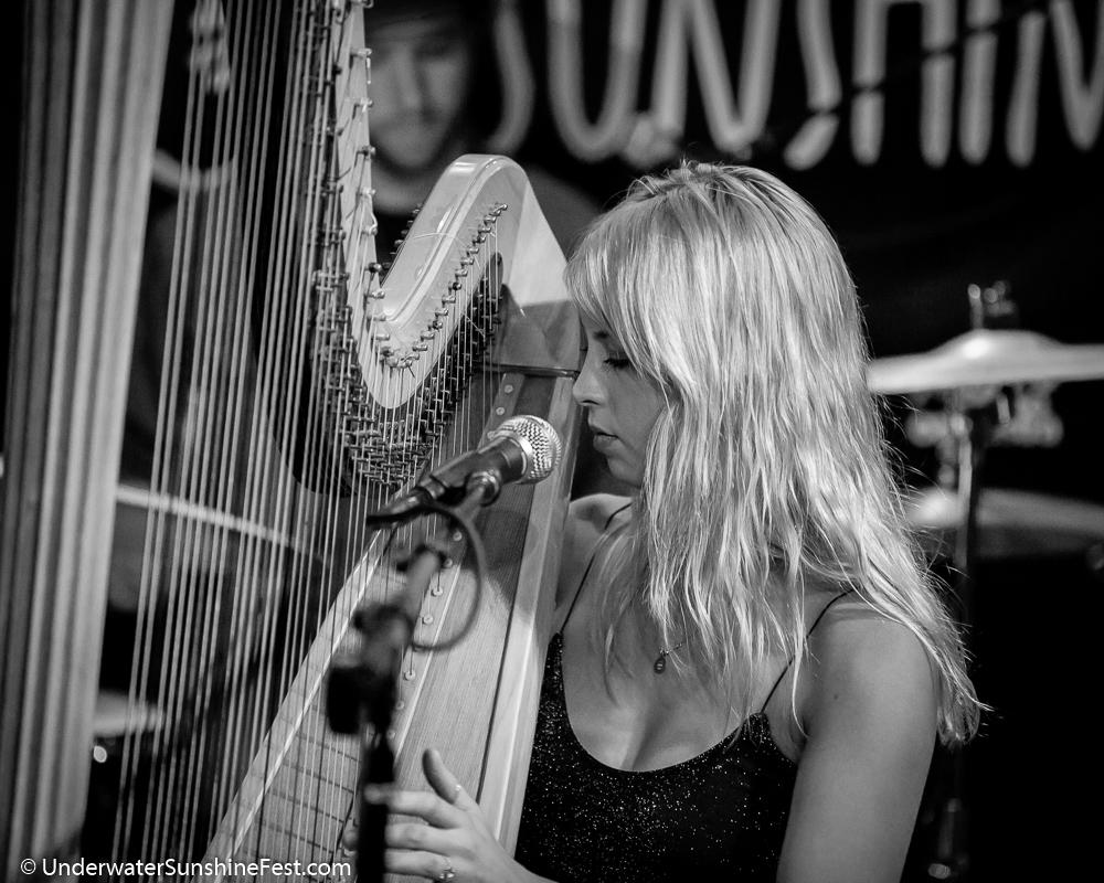 Mikaela Davis, Underwater Sunshine Fest, 10/2018 | Photo Credit: Dan Vasta  ©2018, Underwater Sunshine Festival, All Rights Reserved.