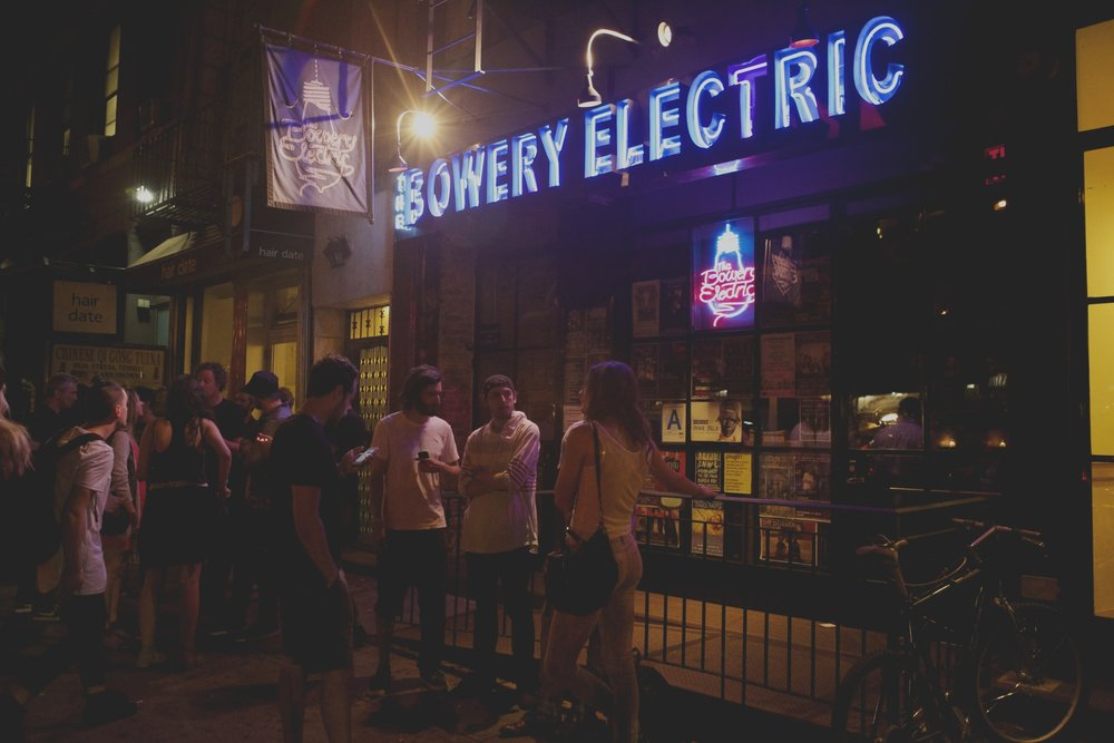 APRIL 5th & 6th - Bowery Electric — NYC