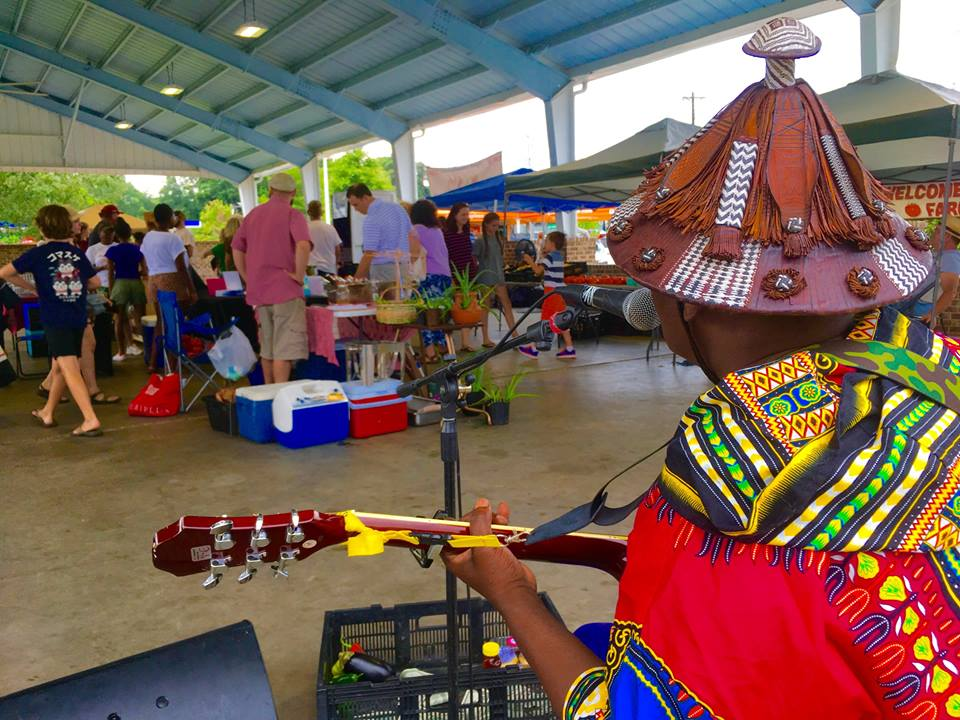 Music at the Market featuring Guelel Kumba
