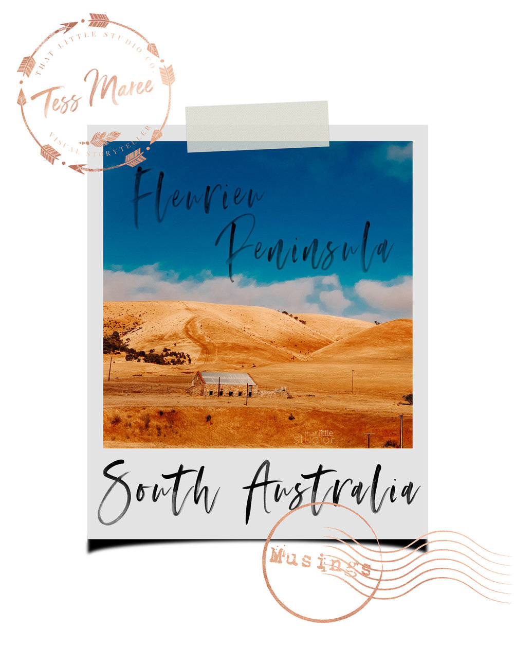 Tess-Maree-Musing-Flerieu-Peninsula-South-Australia-Polaroid