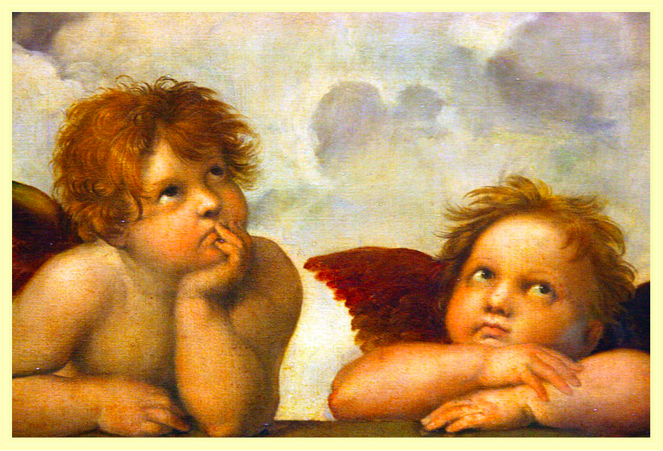 Angelic and pure  -  Fairer skin is often associated with being pure and angelic. Research from the University of Toronto, states that ' people with lighter skin are associated with being ethereal and innocent'. Almost every single painting of angels or women from the Renascence era had fair skin. History and past standards of beauty, all have a say in what is considered desirable in common day culture. As mentioned before, the rules of beauty that Geisha possessed (red lips, black hair, fair skin) have transcended down to the modern day women of Japan. A newly sought-after concept is too look youthful. Not only youthful but cute and innocent. The culture of 'cuteness' is called Kawaii. A study by Kanebo, a cosmetic company, found that Japanese women, in general, favored the