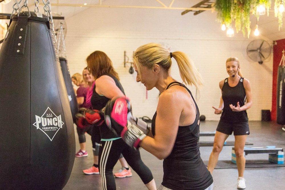 Punch love womens gym hawkesbury
