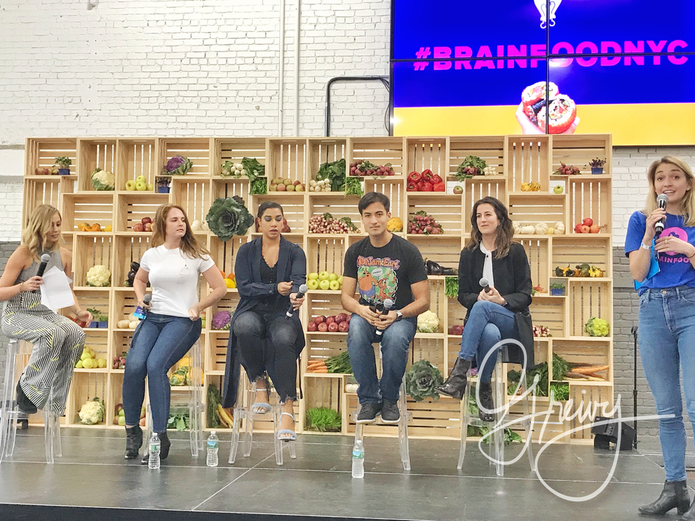 Led by Skyler Bouchard @nycdining, Michelle Davis Thug Kitchen, Hannah Bronfman HBFIT, Claire King Tasty , Mike Chau @foodbabyny