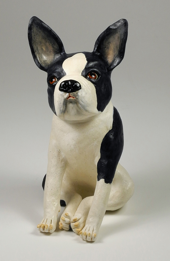 "Boston Terrier, 11""x6""x7"""