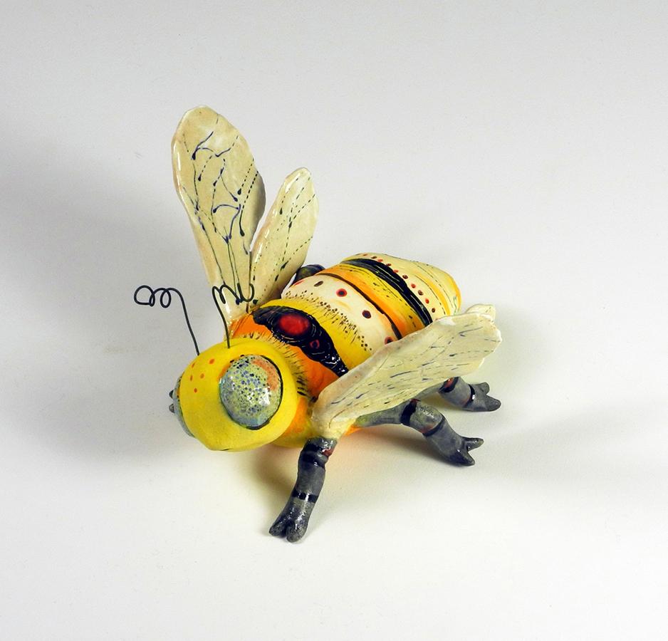 "Bee Love, 7""x8""x5"""