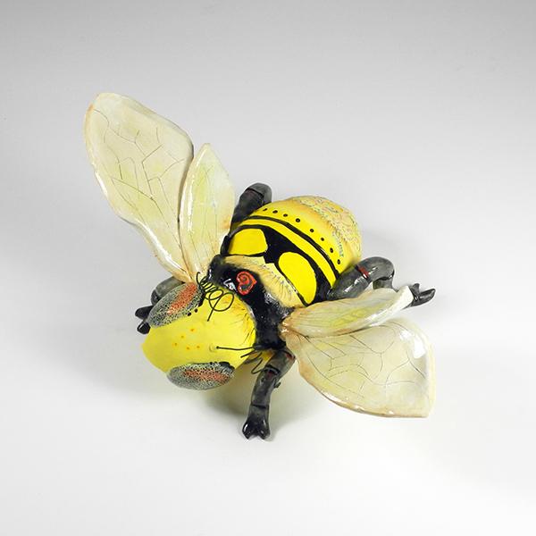 """Queen Bee, 17""""x11""""x7"""""""