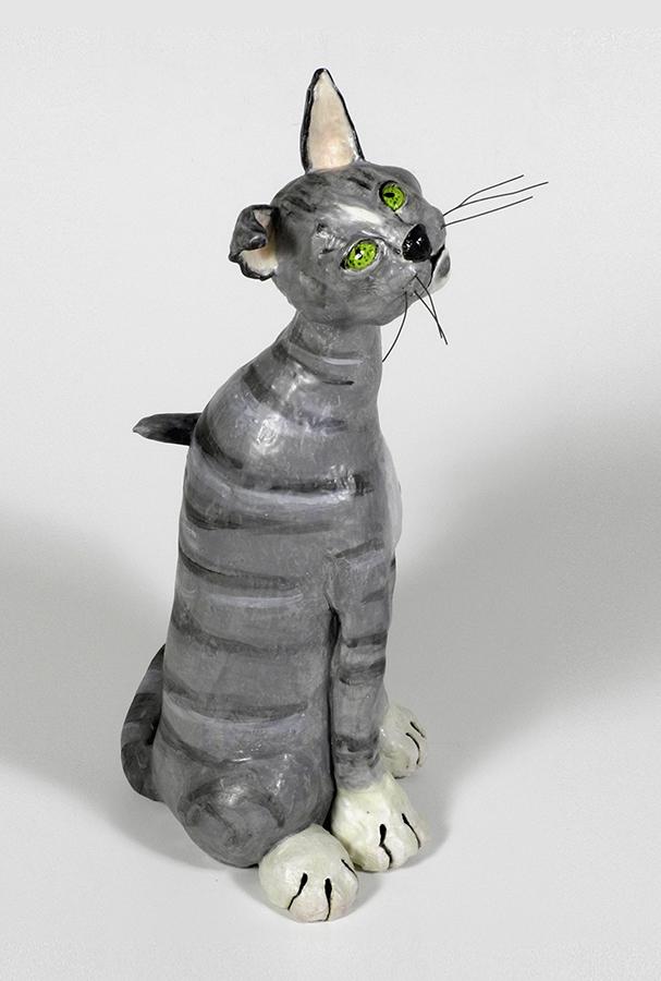 """Cool Cat, 19""""x10""""x8"""""""