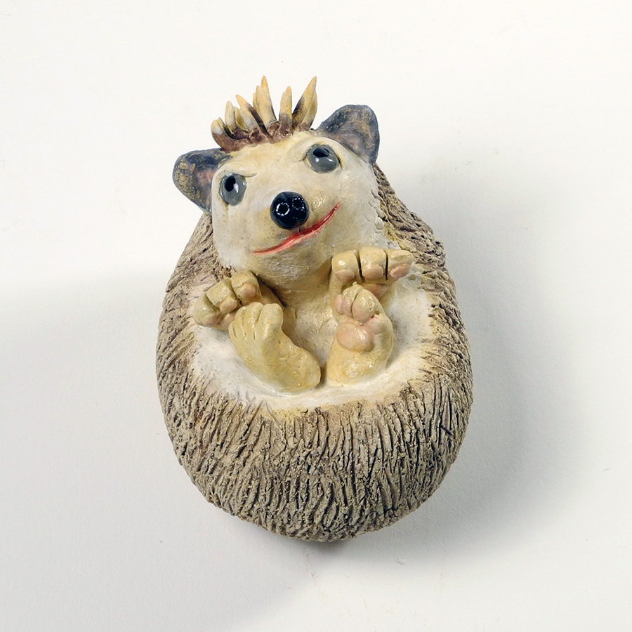 "Hedgehog, 3"" high"
